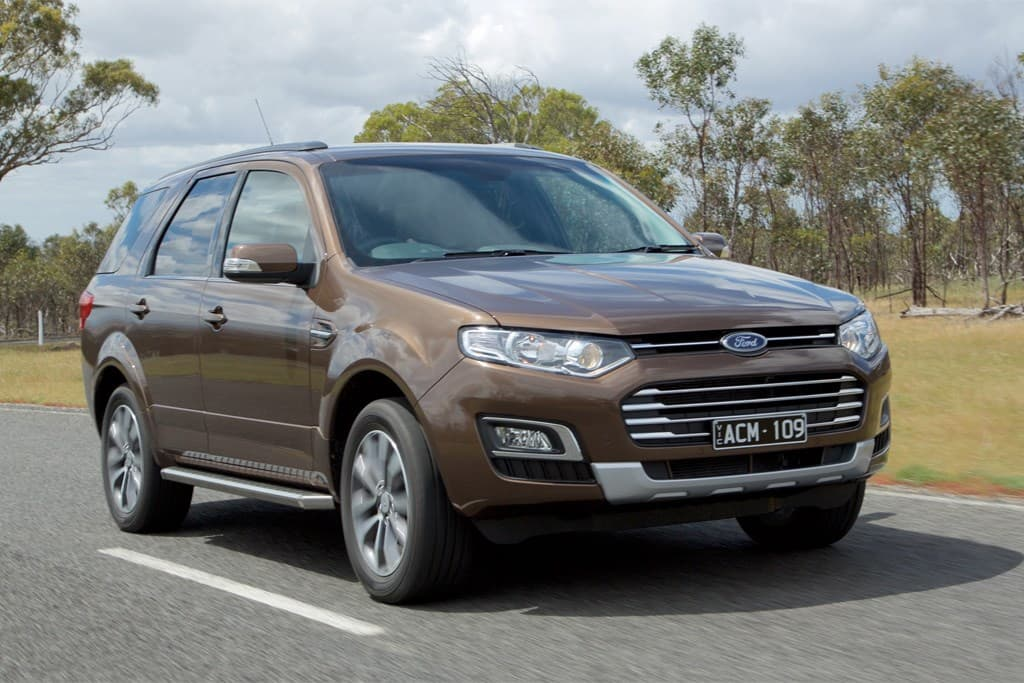 Ford Territory TS Diesel AWD 2014 Review - www carsales com au