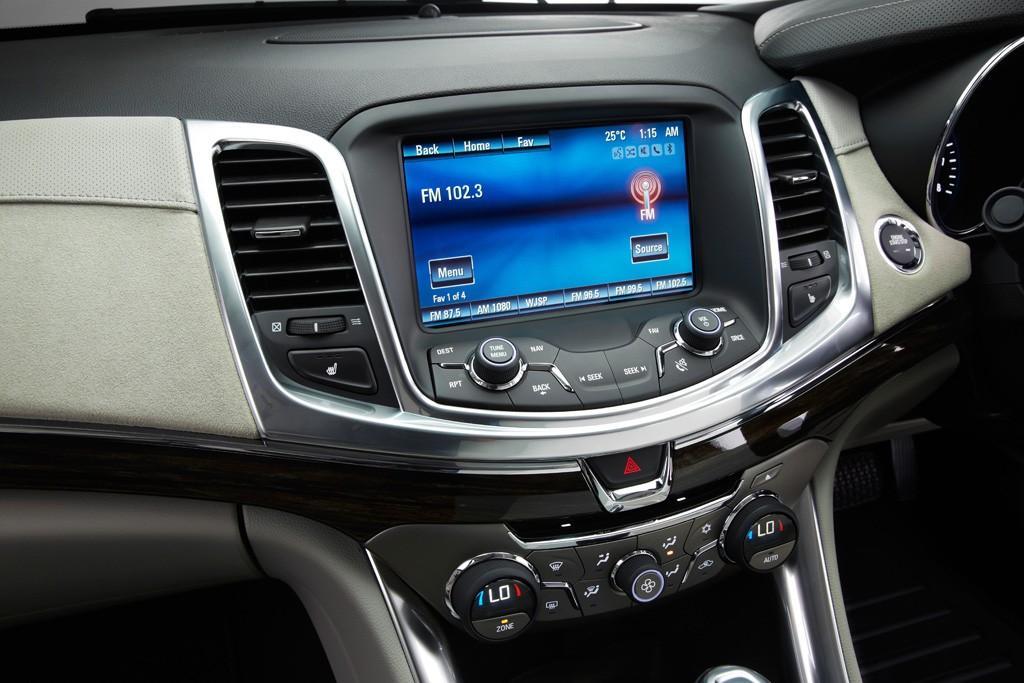 VF Commodore: Interior pushes upmarket - www carsales com au