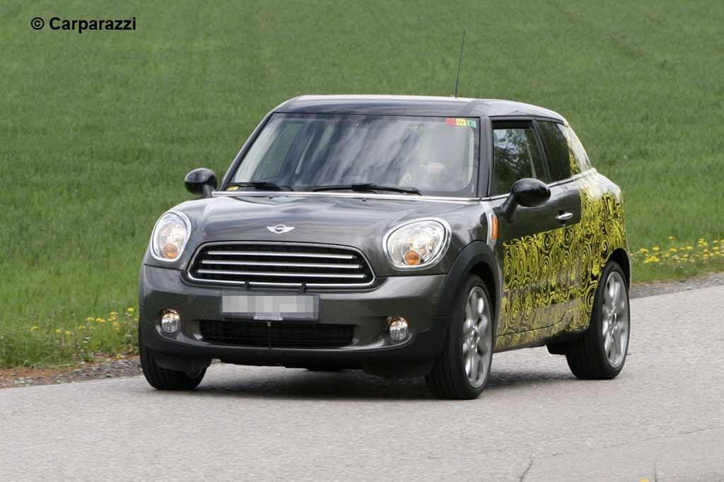 Spy Pics Mini Countryman Coupe Spied Testing Wwwcarsalescomau