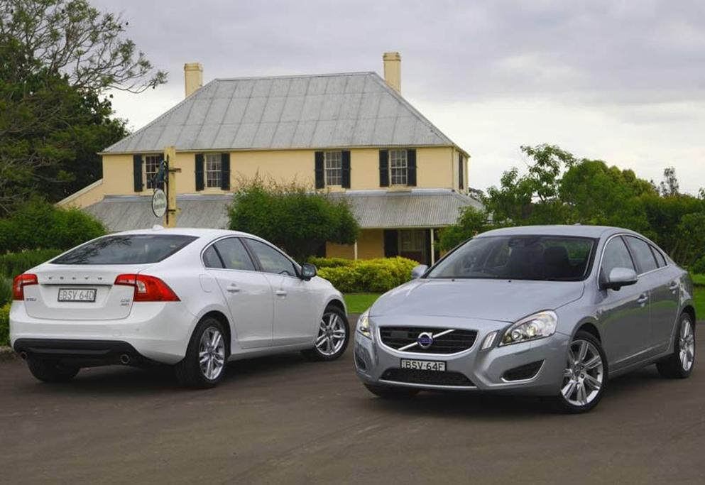 Volvo S60 T6 and D5 - www carsales com au