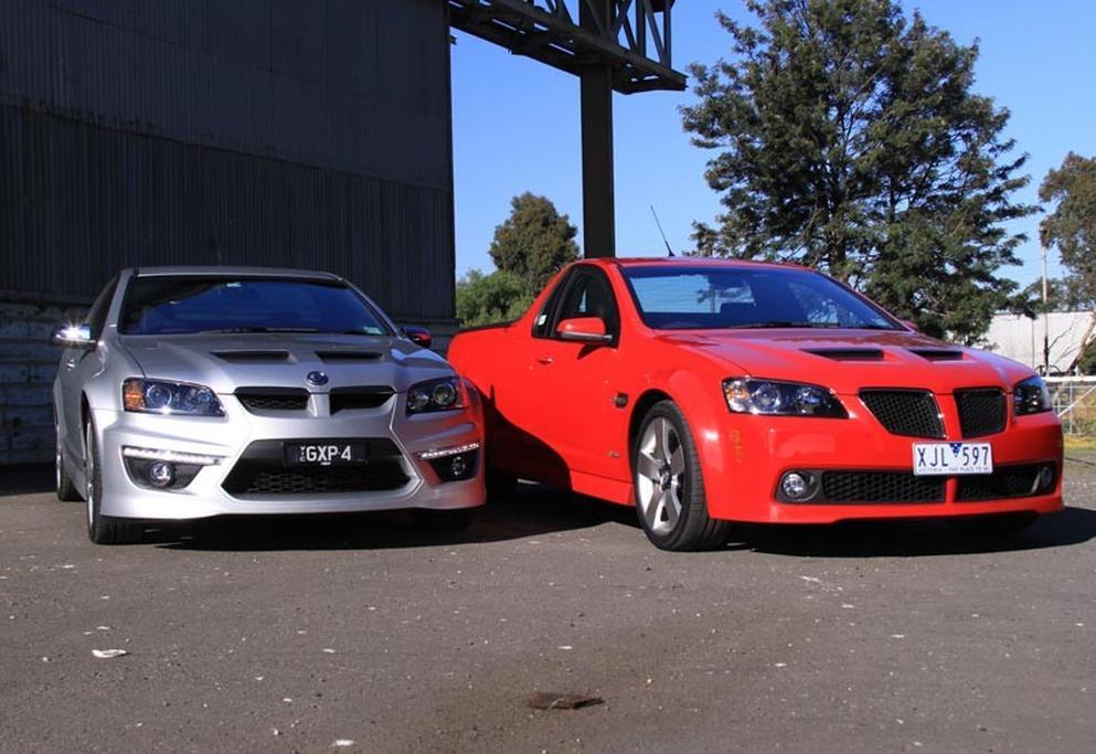 Holden Commodore SS V G8 vs HSV Maloo GXP - www carsales com au
