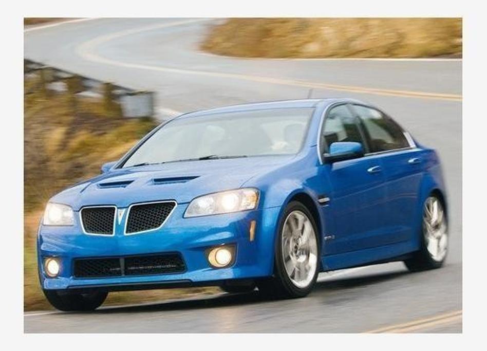 Pontiac G8 GXP - www carsales com au