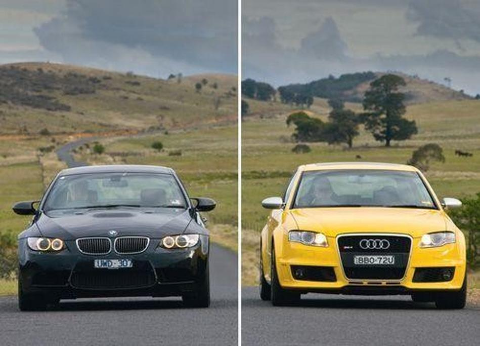 Audi Rs4 Vs Bmw M3 Wwwcarsalescomau