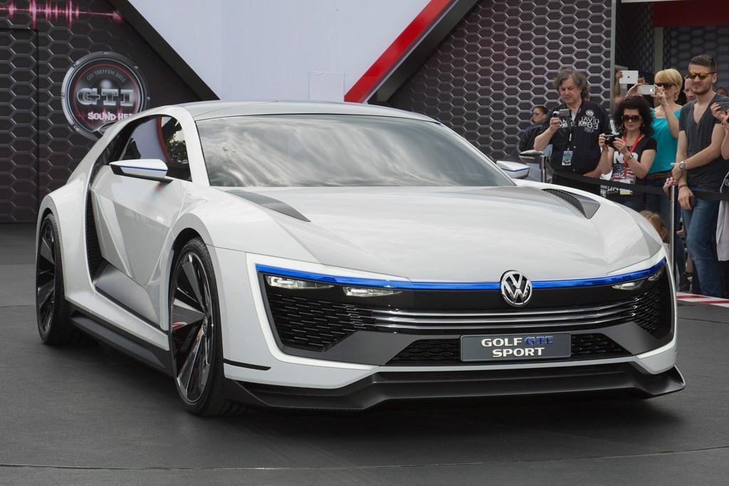 Worthersee Volkswagen Golf Gte Sport Concept