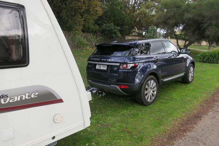 range rover evoque 2014 tow test www carsales com au