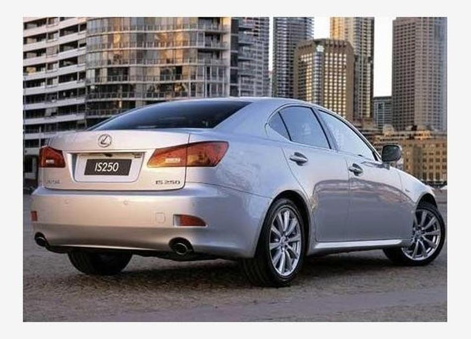 Lexus IS250 Sports Luxury - www carsales com au