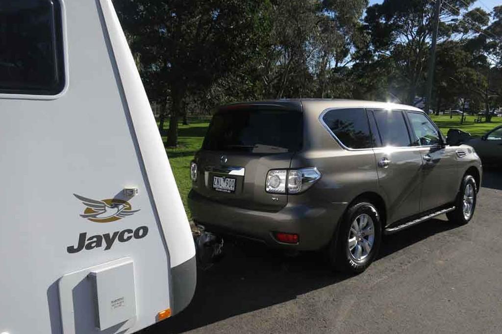 Nissan Patrol Y61 vs  Y62: Tow Test - www carsales com au