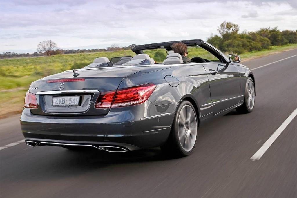 Mercedes-Benz E-Class Coupe and Convertible 2013: Local