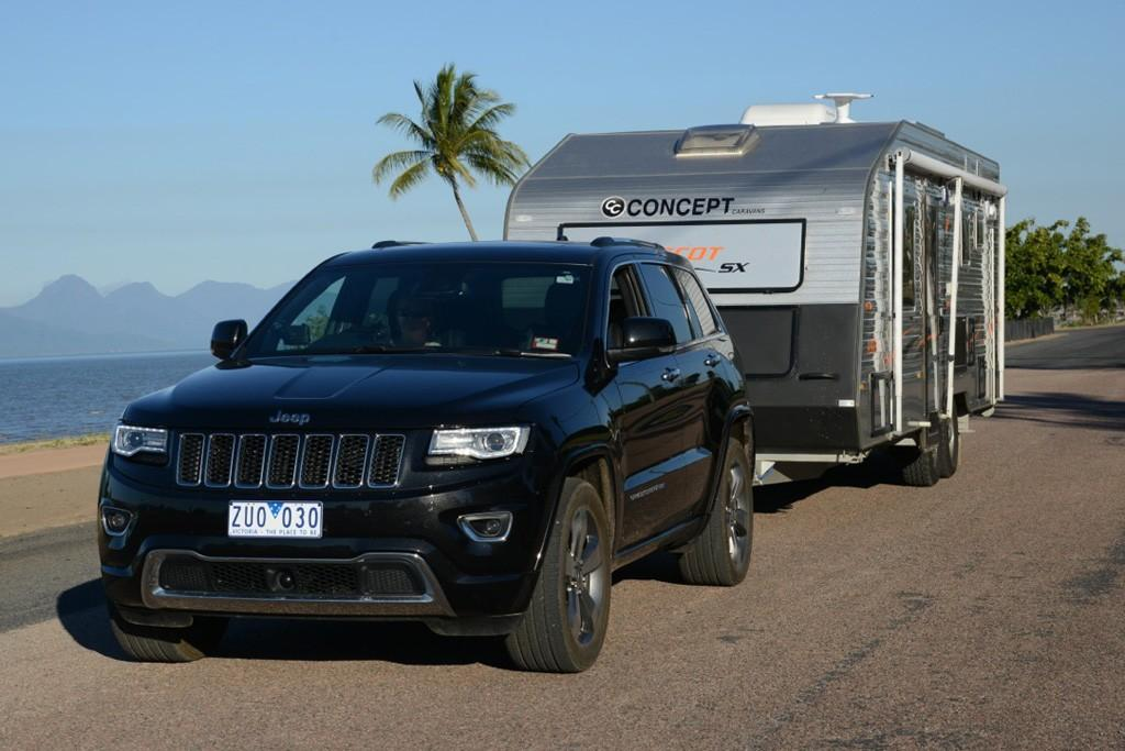 Jeep Grand Cherokee Towing Capacity >> Jeep Grand Cherokee 2013 Tow Test Www Carsales Com Au