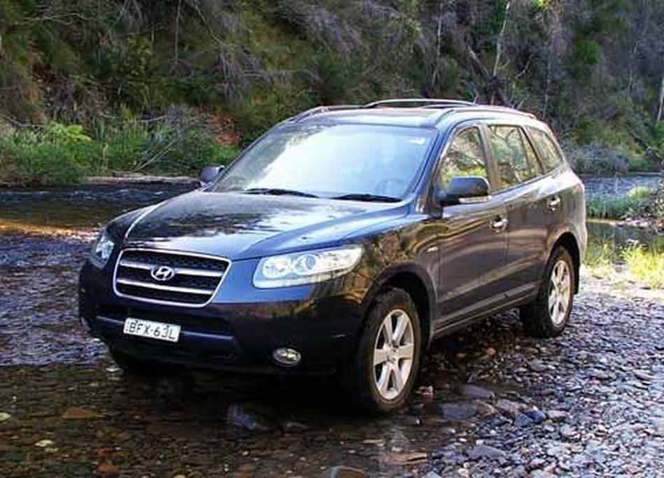 Hyundai Santa Fe Elite CRDi - www carsales com au
