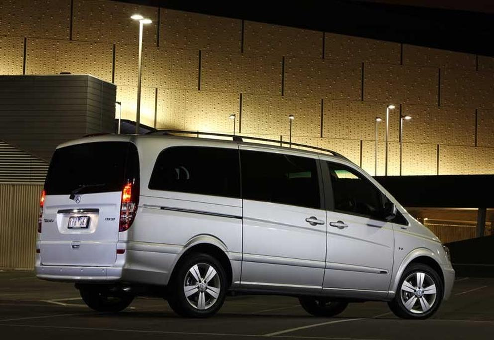 More V6 power for facelifted Benz Viano - www carsales com au