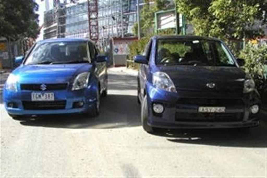 Daihatsu Sirion vs Suzuki Swift (2005-) - www carsales com au