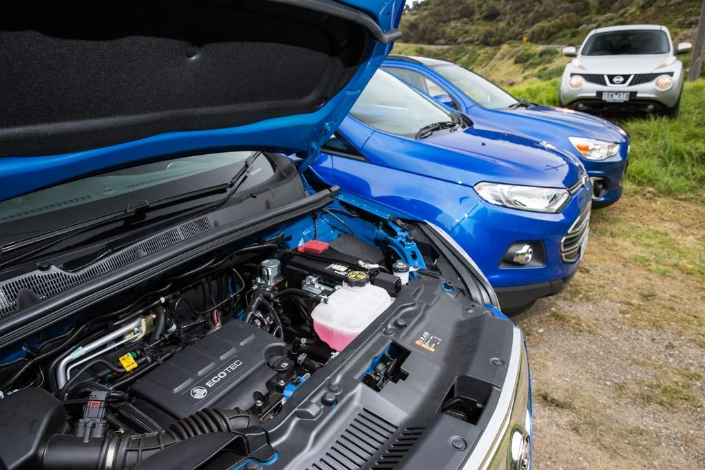 Light Suv Comparison Ford Ecosport V Holden Trax V Mitsubishi Asx V Nissan Juke Www Carsales Com Au