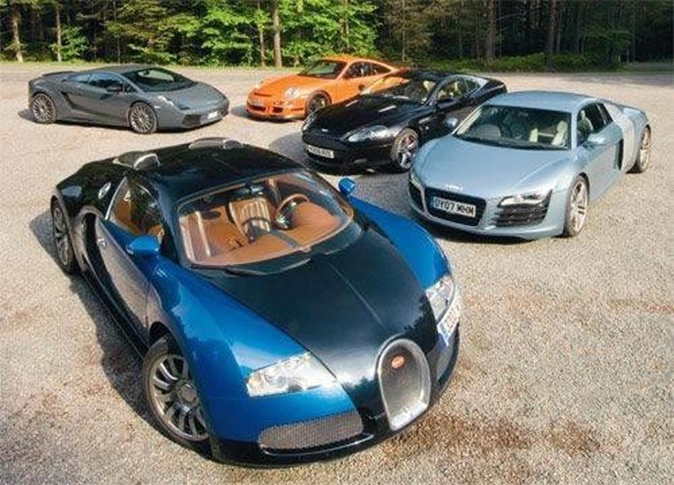 Bugatti Veyron V Lamborghini Superleggera V Porsche Gt3 Rs V Audi R8