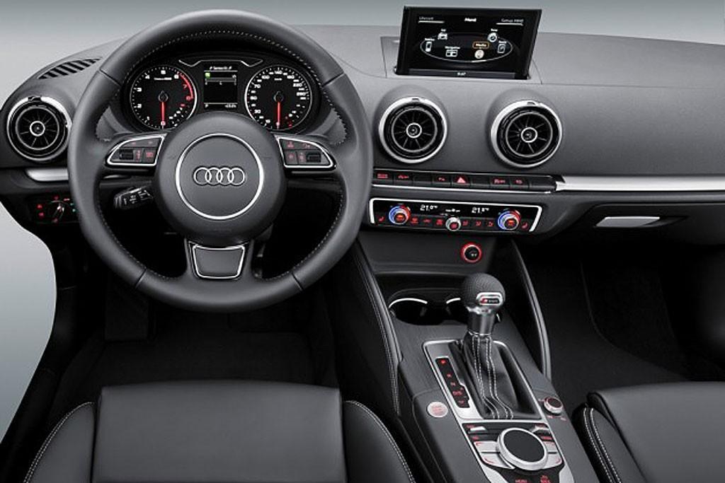 Audi A3 interior at CES - www carsales com au