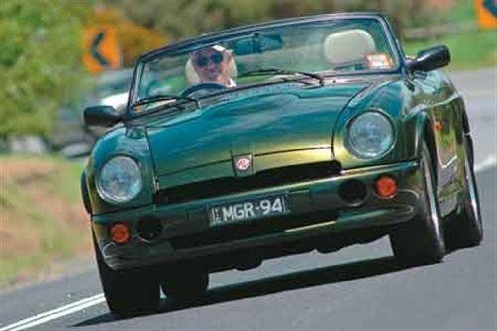 MG RV8 - www carsales com au