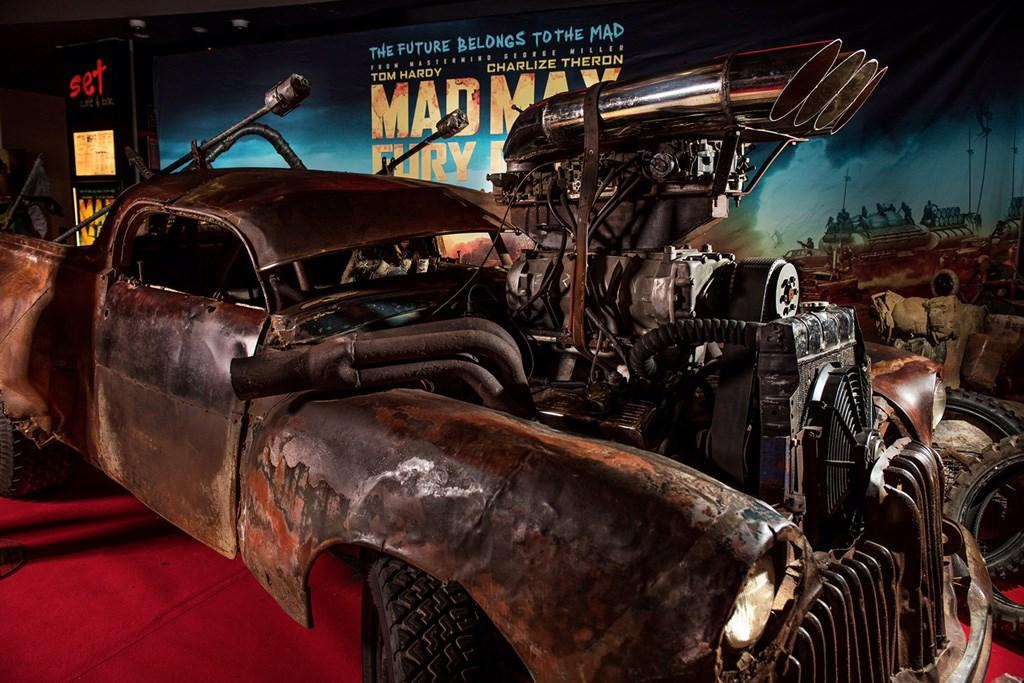 Mad Max Car On Show Www Carsales Com Au