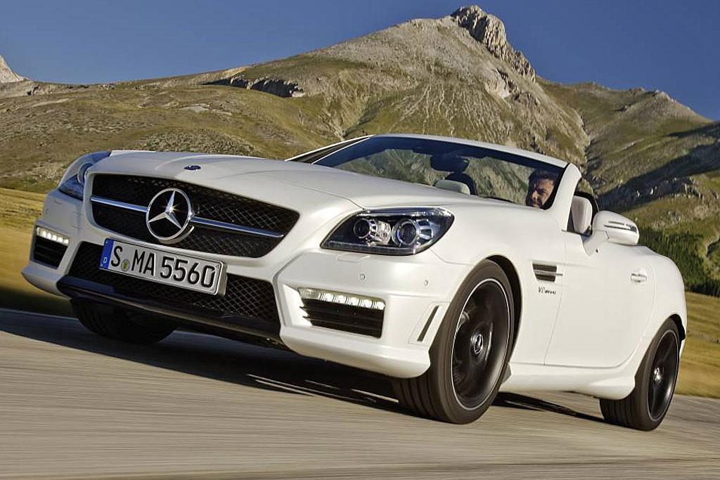 Mercedes-Benz SLK 55 AMG 2012: Road Test - www carsales com au