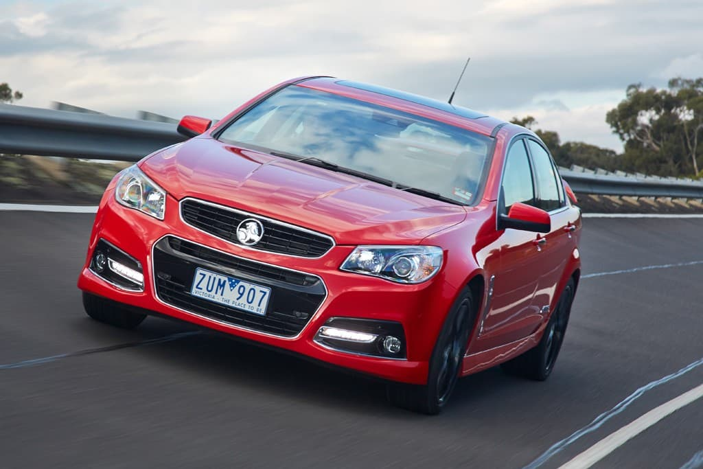 Holden VF Commodore SS V Redline 2013: Track Review - www carsales