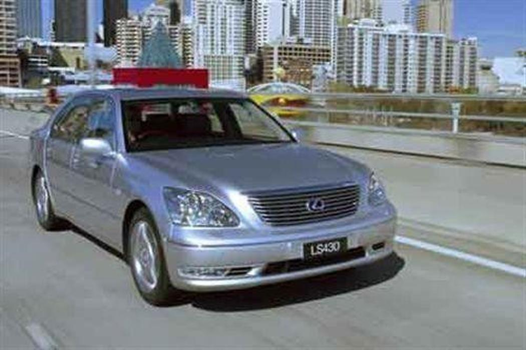 lexus ls430 steering wheel vibration when braking