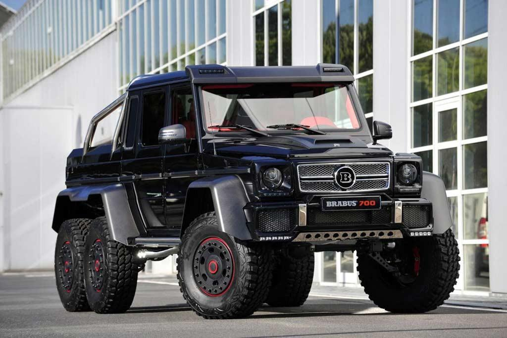 Brabus B63S 6x6 rocks Dubai motor show - www carsales com au
