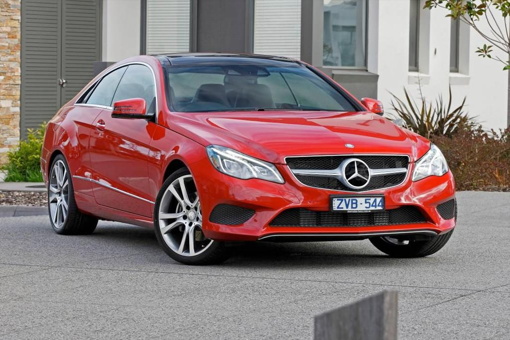 Mercedes-Benz E-Class Coupe and Convertible 2013: Local