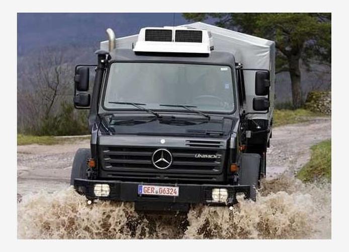 Mercedes-Benz Unimog U5000 - www carsales com au