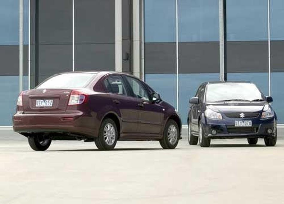 Suzuki SX4 Hatch & Sedan - www carsales com au