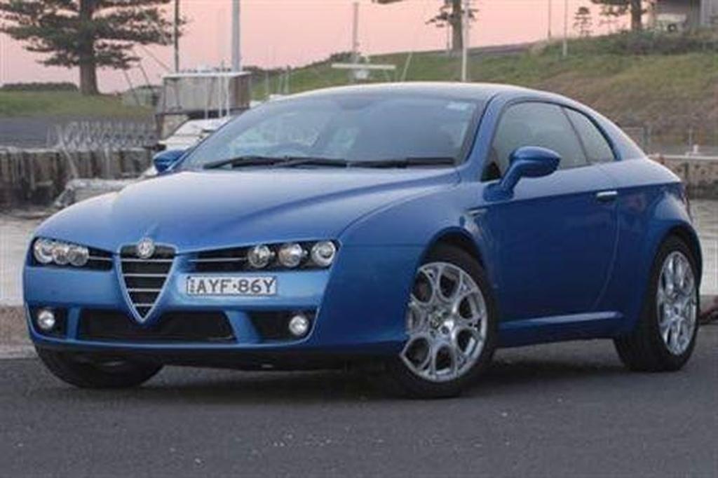 Alfa Romeo Brera 3.2 JTS V6 Q4 - www.carsales.com.au