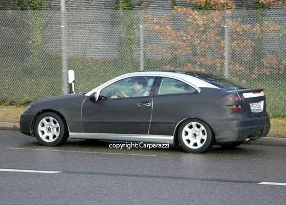 SPY PICS: Next Sports Coupe to remain W203-based - www