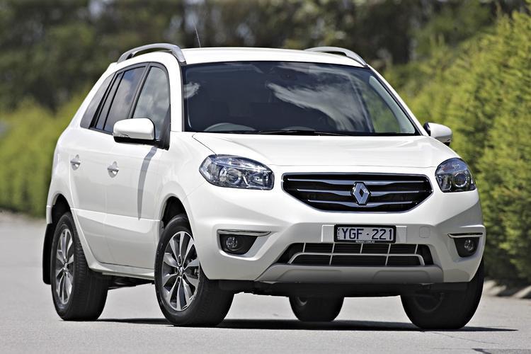 Renault koleos towing capacity