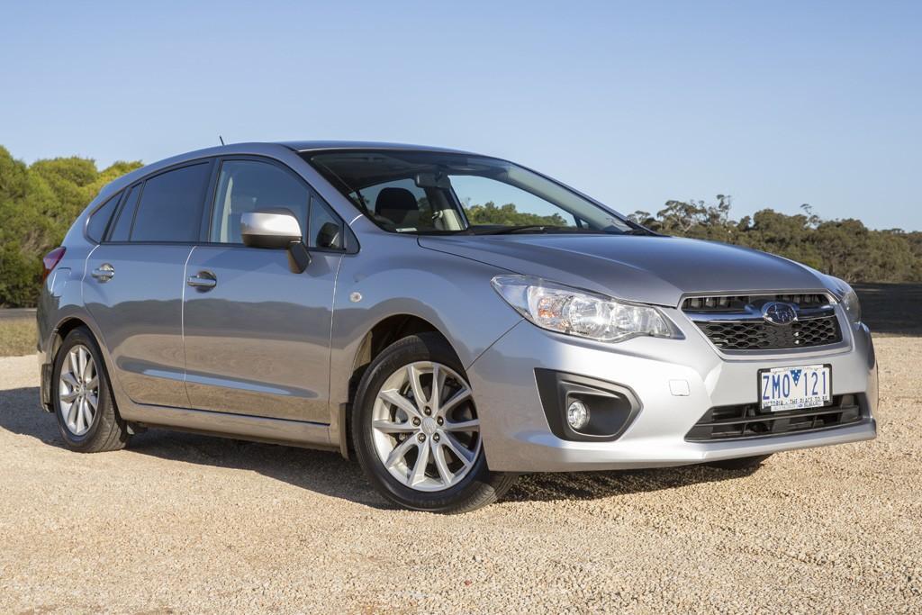 Subaru Impreza: Small car mega-test 2013 - www carsales com au