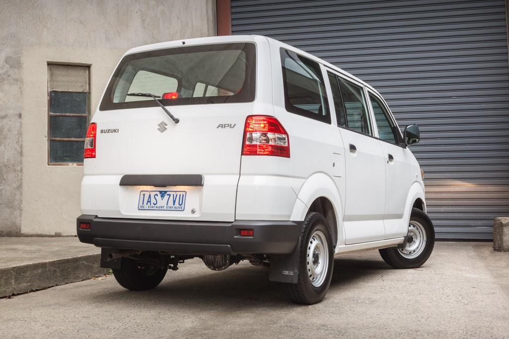 Small LCV Comparison 2014: Suzuki APV - www carsales com au