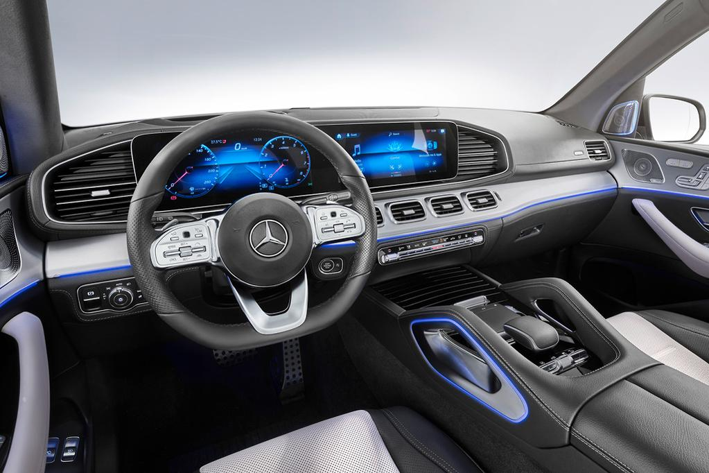 The New 2019 Mercedes Benz Gle Gets A Flash Interior