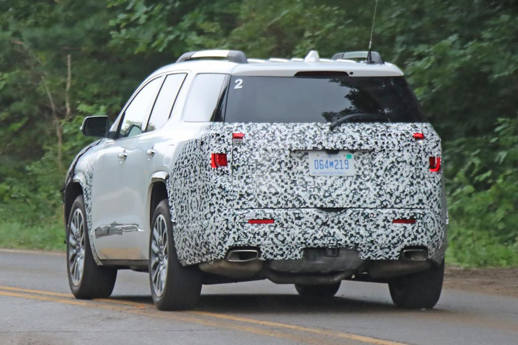 2020 GMC Acadia: Mid-update, News, Release >> Spy Pics Incoming Holden Acadia Already Facelifted Www Carsales