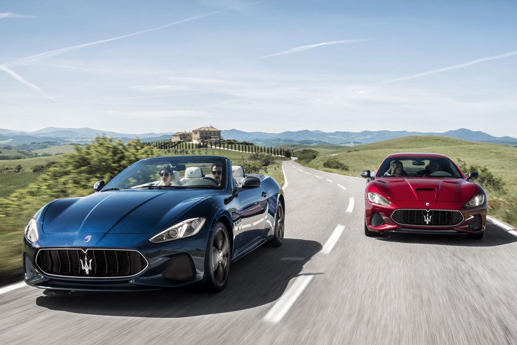 Maserati Grancabrio And Granturismo Facelifted Carsales