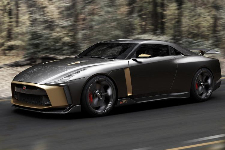 ... $1.4 Million Plus GT R50 By Italdesign But, Despite The Presence Of The  New Special Edition, Was Happy To Talk About The R35 GT R Replacement.
