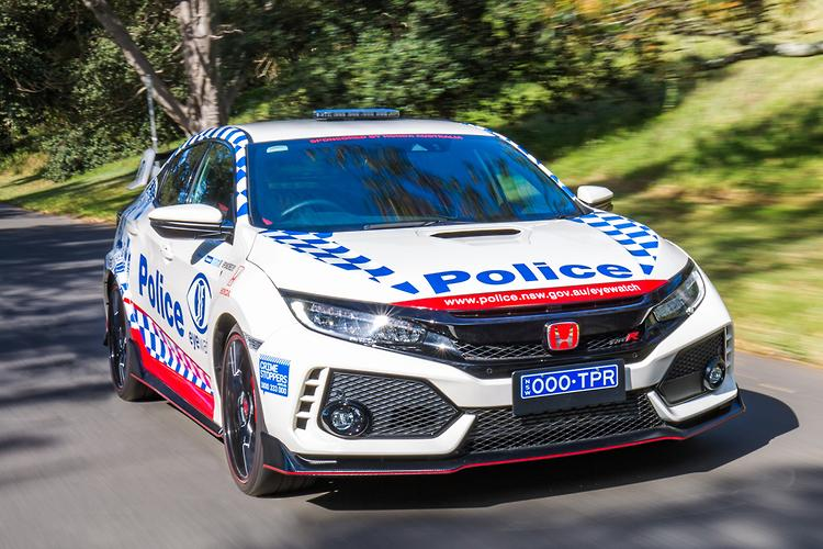 Honda Civic Type R Joins The Nsw Police Force Www Carsales Com Au
