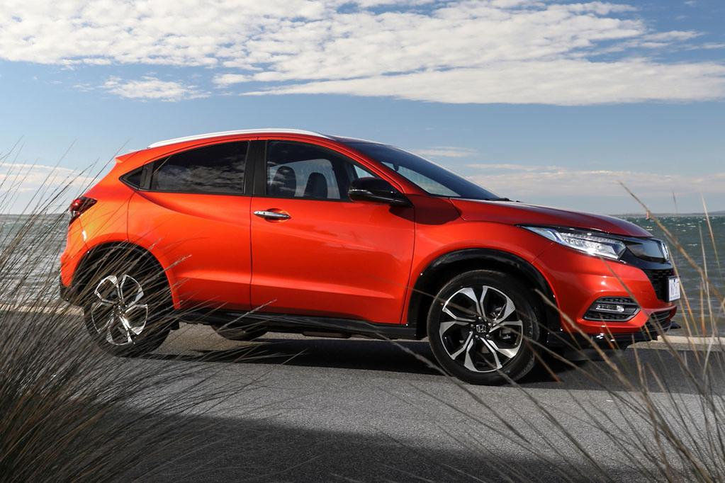 Its No Jeep Trackhawk But The Honda HR V RS Steers More Sharply Sits Flatter In Corners Pitches Less Under Braking And Has A Higher Stability Control
