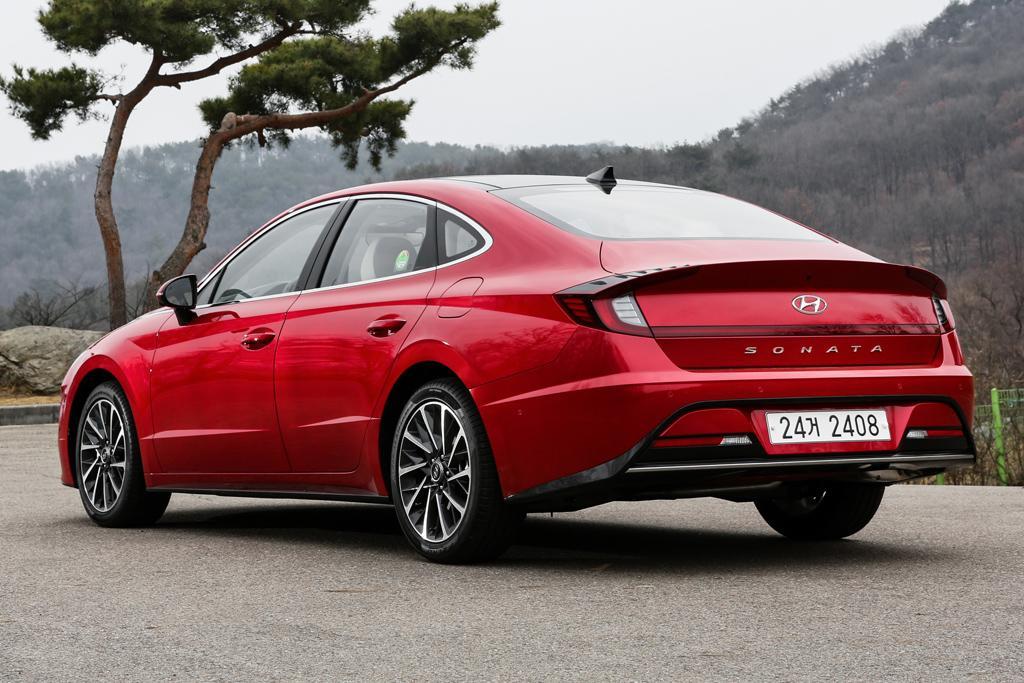 54d61625 New turbocharged Hyundai Sonata to replace i40 - www.carsales.com.au