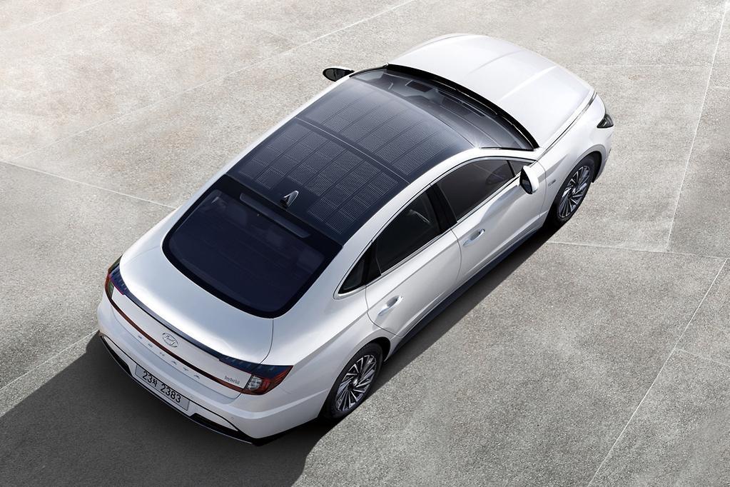 2020 Hyundai Sonata Hybrid Breaks Cover Www Carsales Com Au