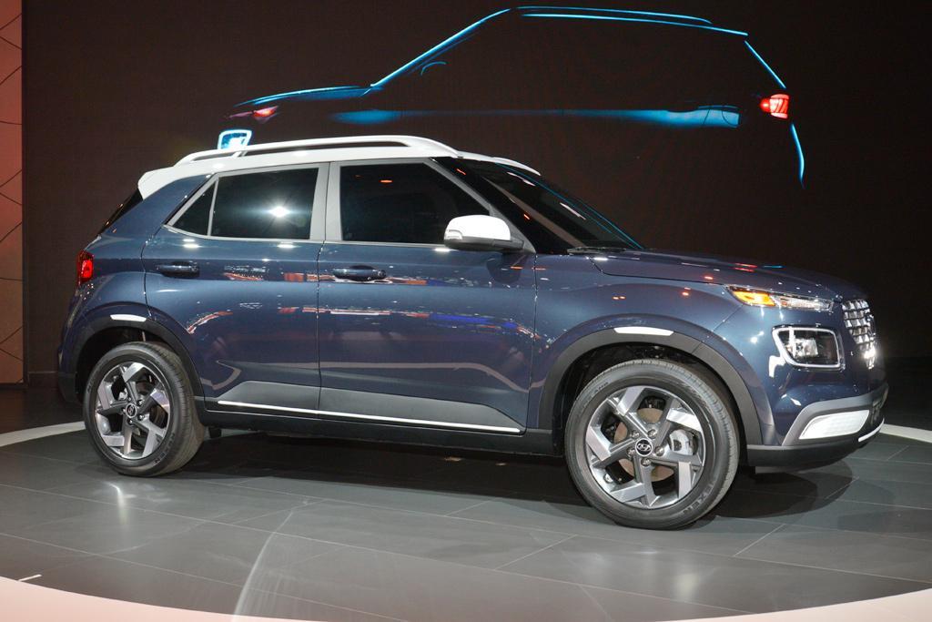 NEW YORK MOTOR SHOW: Hyundai Venue SUV makes debut - www