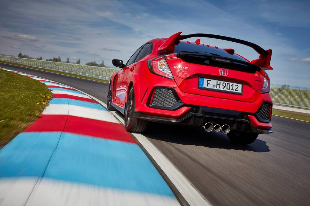 Honda Civic Type R acceleration times revealed - www carsales com au