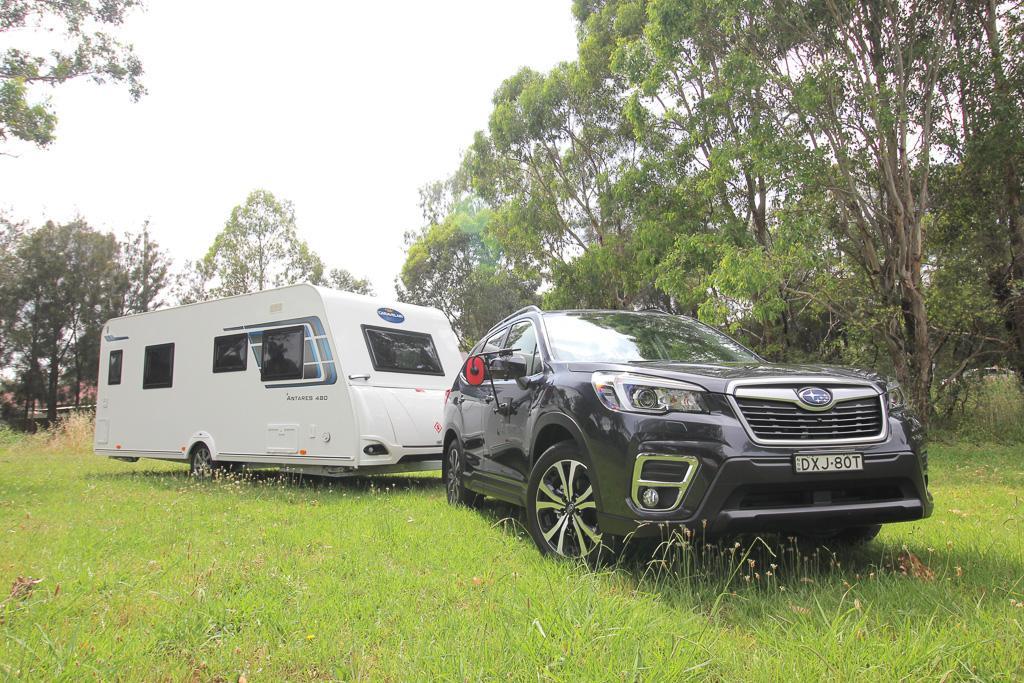 Subaru Forester 2019 Tow Test - www carsales com au