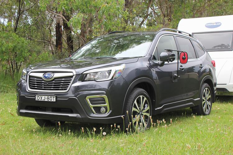 Subaru Forester Towing Capacity >> Subaru Forester 2019 Tow Test Www Carsales Com Au