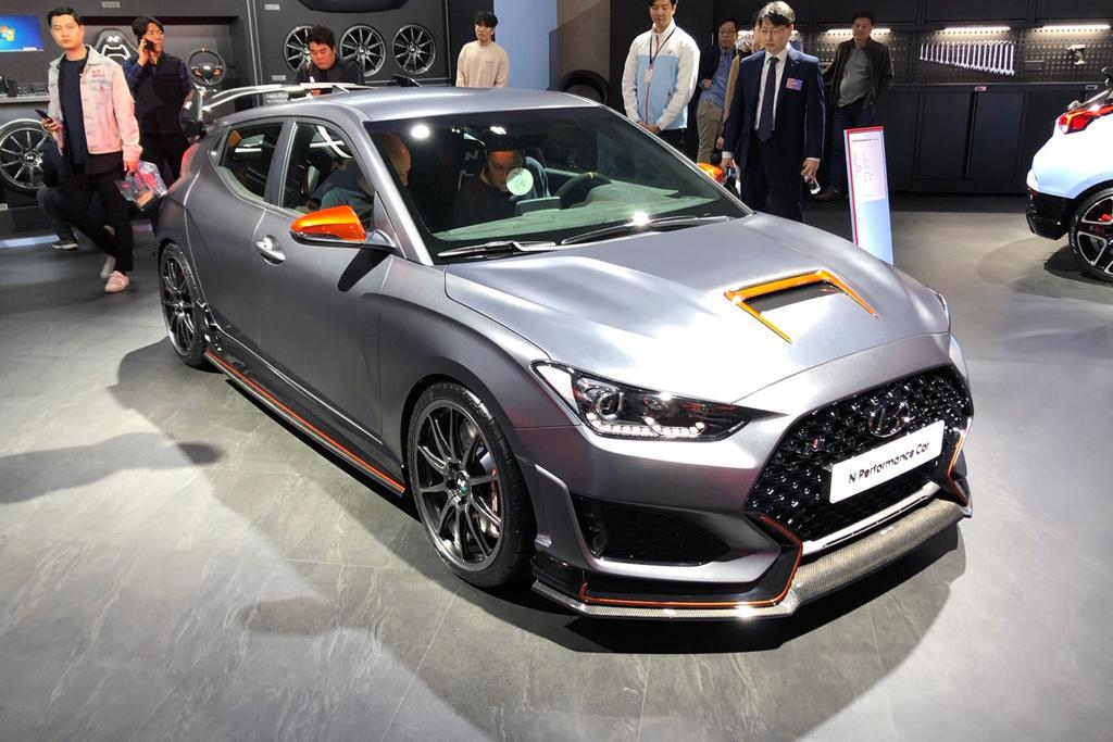 Hyundai Veloster N Performance Car concept outed - www
