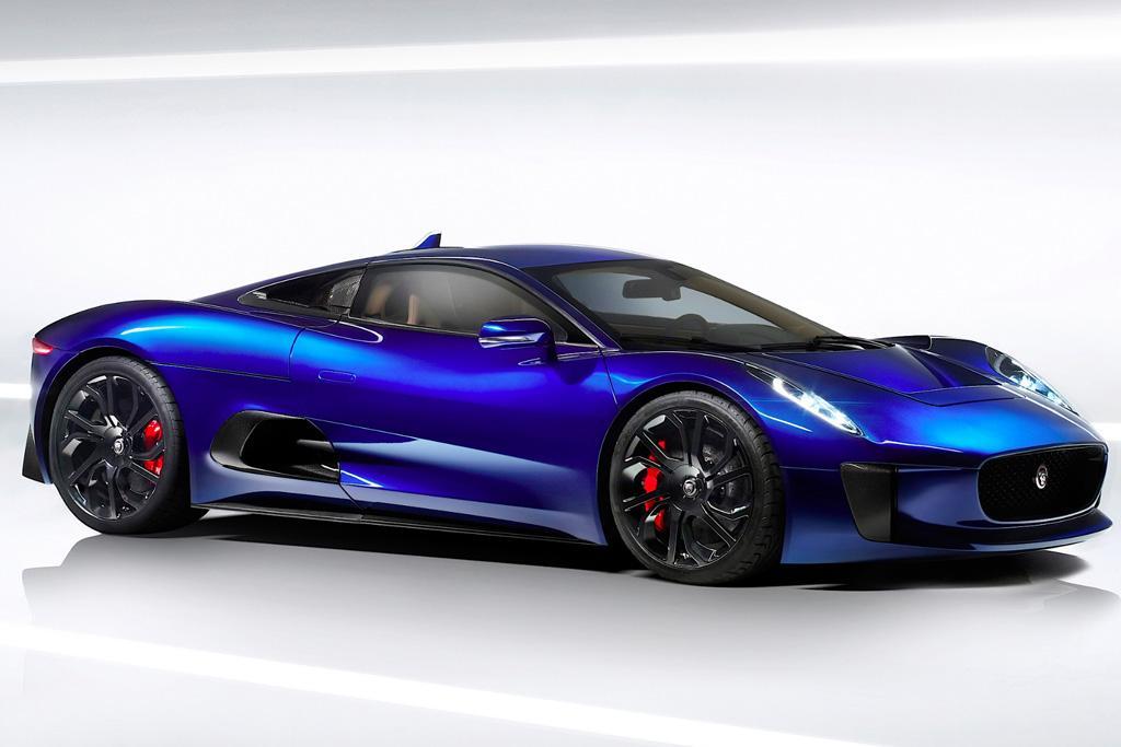 Jaguar Plotting Hi Po Svr Electric Car
