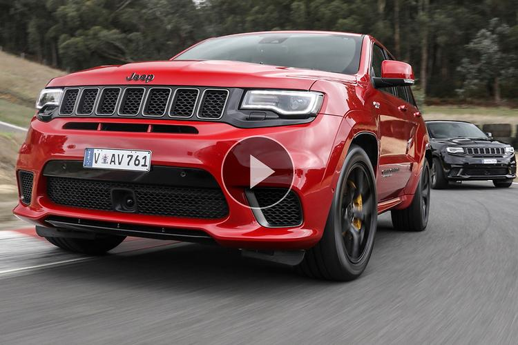 Jeep Grand Cherokee Trackhawk 2018 Video Review Www Carsales Com Au
