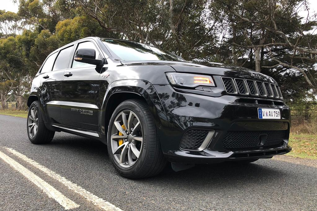 Jeep Grand Cherokee Trackhawk 2018 Review - www carsales com au
