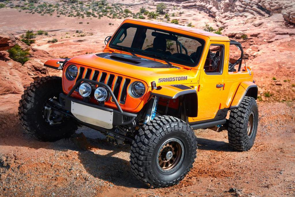 Jeep shows off seven new concepts for 2018 SUV fest - www carsales